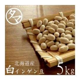 5000g 北海道産 白いんげん豆(大手亡豆)(30年度産) 送料無料