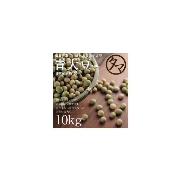 国産青大豆 10kg 送料無料 30年度産 01
