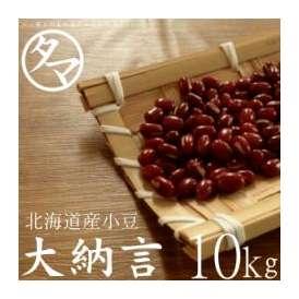 北海道 大納言 小豆 10kg 令和元年度産 送料無料