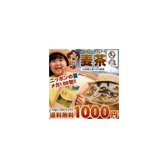 【送料無料】九州産麦茶(むぎ茶) 100パック入り 無添加・ノンカフェイン01