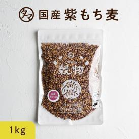 超レア食材!九州産紫もち麦 【送料無料】 1kg(250g×4袋) 食物繊維&ポリフェノールも一緒に食べよう