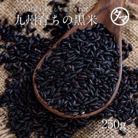 【送料無料】有機肥料 黒米 (黒紫米)250g 日本産