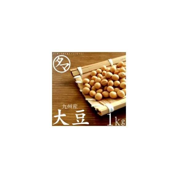 九州産 大豆 1kg (26年度産) 【BCAA ロイシン】01