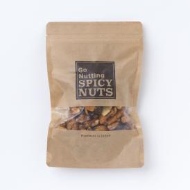 [送料無料] 定番! 甘くて辛い、スパイシーナッツ 135g 2袋セット(保存に便利なチャック付き)ヘヴィーユーザー御用達タイプ。 一度食べると止まらない!