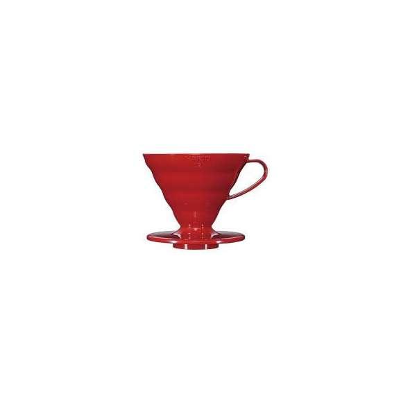 [お取り寄せ商品]V60透過ドリッパー02レッドVD-02R/ハリオ(HARIO)/グルメコーヒー豆専門加藤珈琲店01