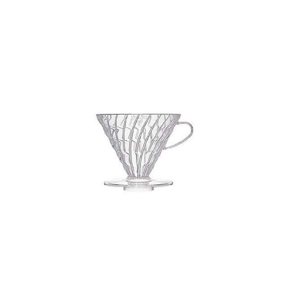 [お取り寄せ商品]V60透過ドリッパー03クリアVD-03T/ハリオ(HARIO)/グルメコーヒー豆専門加藤珈琲店01