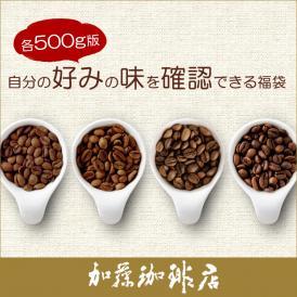 自分の好みの味を確認できる福袋(Qグァテ・KYOTO・クリス・鯱/各500g)