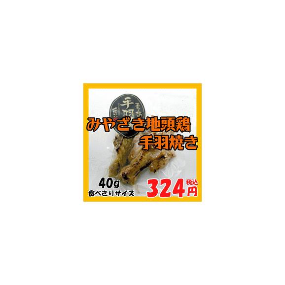 みやざき地頭鶏手羽焼き01