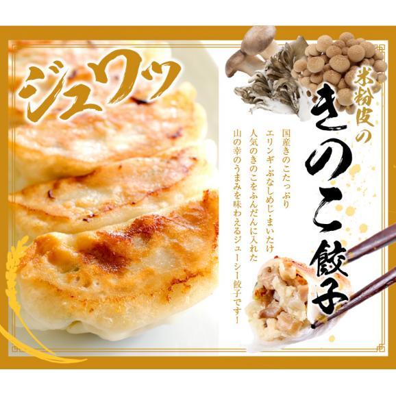 もっちり!しっとりの米粉餃子の嬉しいセット! 【送料・税込】米粉の皮で包んだ餃子60個セット05