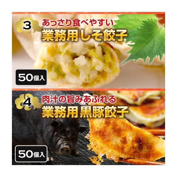大人気!4種の餃子をセットにしました!【送料無料】至福のひと時餃子セット03