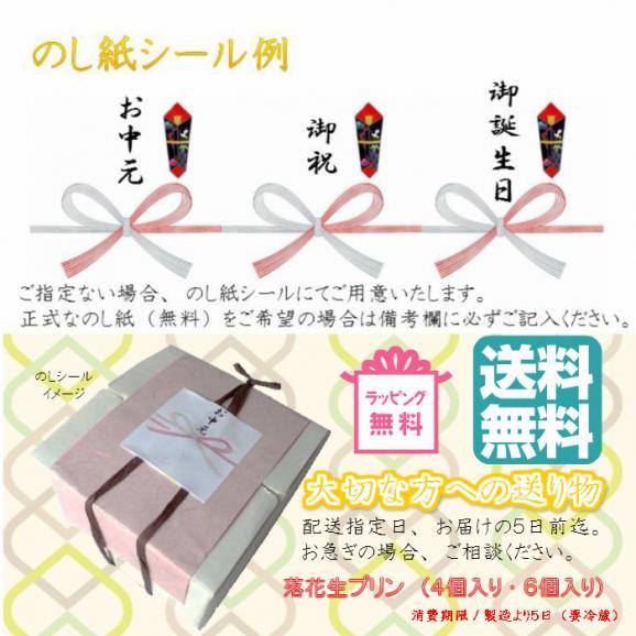 落花生プリン(チョコレート)6個入【送料込】05