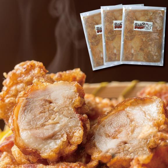 空とぶからあげ 冷凍450g×3パック入 からあげグランプリ金賞受賞の簡単揚げるだけの唐揚げ01