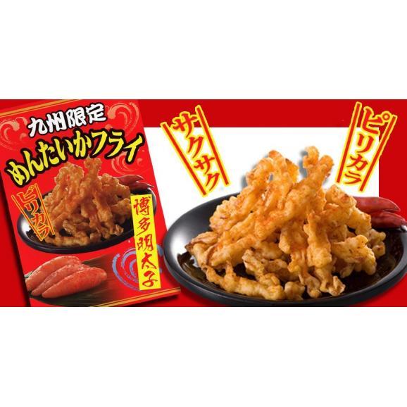 博多食材工房 九州限定 めんたいかフライ 60g×10個 「送料込」 067-69403