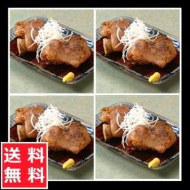 博多食材工房 国産豚使用 ☆ぷるぷる☆ 豚足 4本セット  調理済み (醤油4本)067-779 コラーゲンたっぷりでお肌ぷるぷる 「送料込」