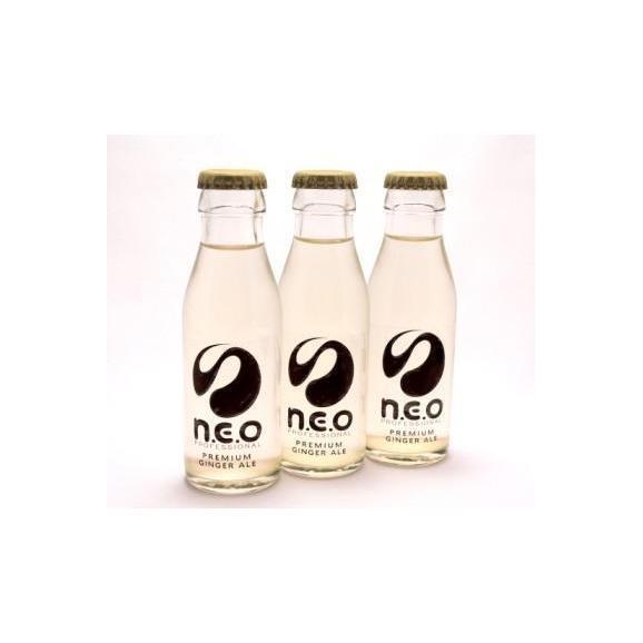 n.e.o(ネオ)プレミアムジンジャー・エール 【95ml × 24本 × 4ケース】01