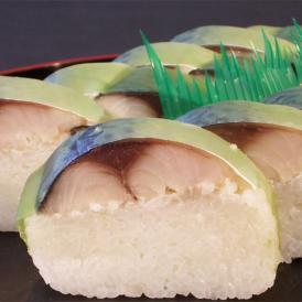 当店自慢の鯖の棒寿司は製造日から3日目ぐらいが味が馴染んで食べごろです。