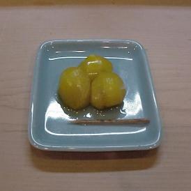 京料理 割烹 濱喜久 丹波産の栗の甘露煮