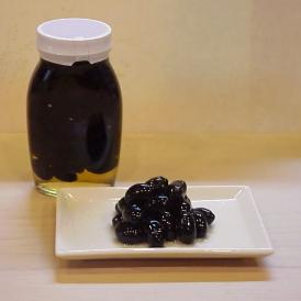 京料理 割烹 濱喜久 ぶどう豆の瓶詰め