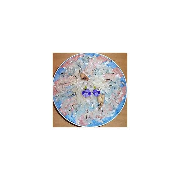 鱧しゃぶ(自家製ポンズ、特製鱧出汁付、生麩、生湯葉、椎茸、大根付)02
