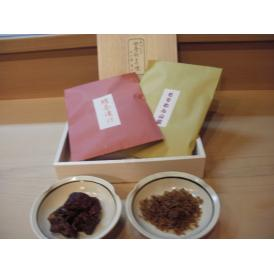 京都 【鱧茶漬け、山蕗山椒煮、木箱入り】