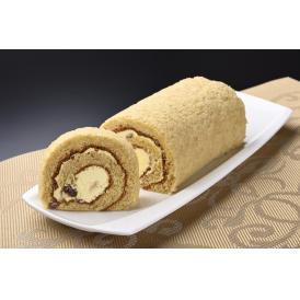 石川県産「兼六芋と能登大納言小豆」を使ったロールケーキ