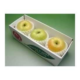 安曇野 あらやファームのりんご 王林お試し3個セット