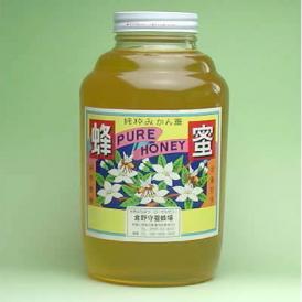 純粋みかん蜂蜜 特大瓶 2400g入り