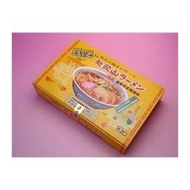 柏木製麺所の和歌山ラーメン 車庫前系濃厚こってり醤油味 3食入り