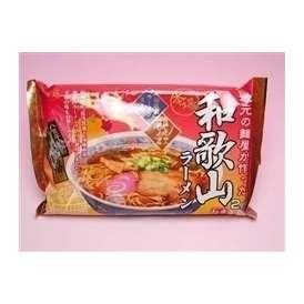 柏木製麺所の和歌山ラーメン 湯浅醤油入車庫前系醤油味 2食入り