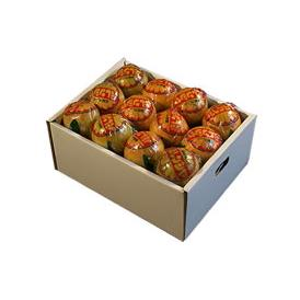 栗山園の国産バレンシアオレンジ 4kg 進物包装【送料無料(北海道、沖縄は1000円)】