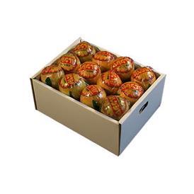 栗山園の国産バレンシアオレンジ 4kg 進物包装【送料無料(沖縄は1000円)】