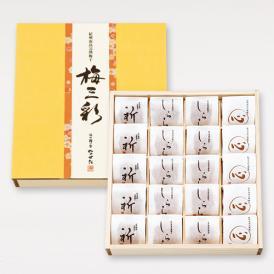 中田食品 紀州南高梅完熟梅干 梅三彩20個入り