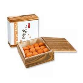 中田食品 紀州産南高梅 はちみつ完熟梅 580g 木箱入り