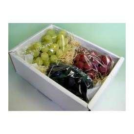 【減農薬栽培】天野山 田中隆二さんのぶどう お任せ詰め合せセット大箱 約3.2kg 4~6房