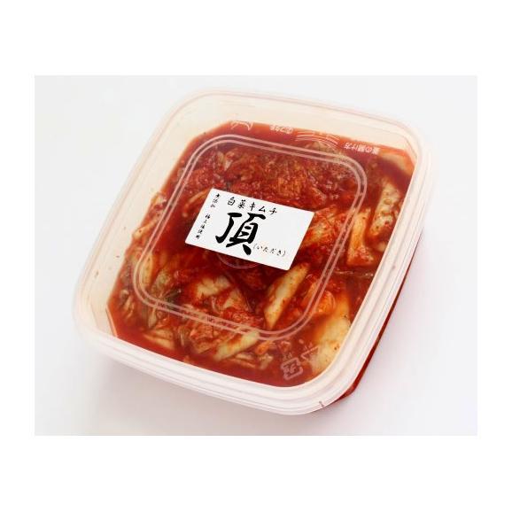 白菜キムチ 頂 400g  プラスチック(タッパ)容器入り03