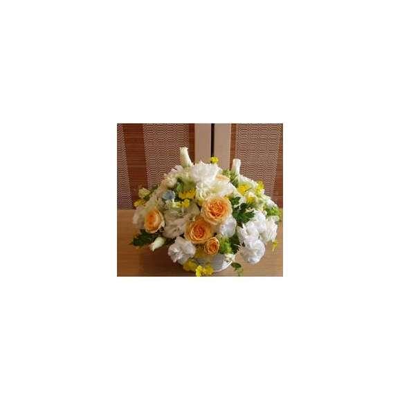 おまかせシーズンアレンジホワイト系カラフルな色使いミディアム02