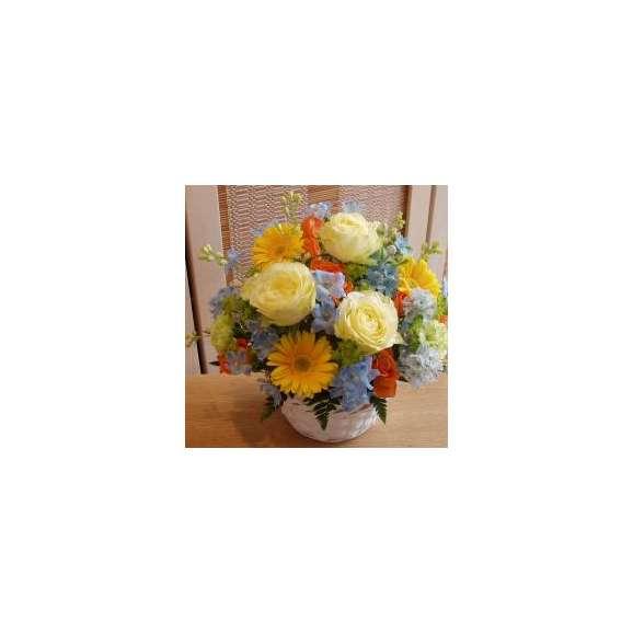 おまかせシーズンアレンジイエローオレンジ系カラフルな色使いスモール01