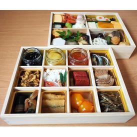 和風2段重【京のおせち料理】京遊膳 花みやこ 11月中旬までのご予約で花みやこオリジナル商品プレゼント