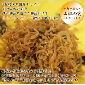 しらす山椒煮(100g)【手土産・お歳暮ギフトにおすすめ】