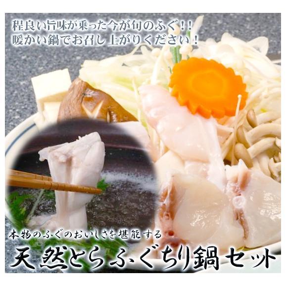 【送料無料】上質天然とらふぐちり鍋セット(4〜6人前)01