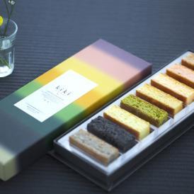 日本の素材を使い、日本の四季や自然をチョコレートで表現