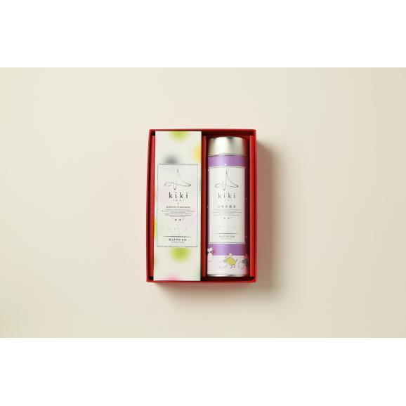 kikiのお年賀 kiki桂花烏⿓茶とKOGASHI(SHIZUKU)詰め合わせ01