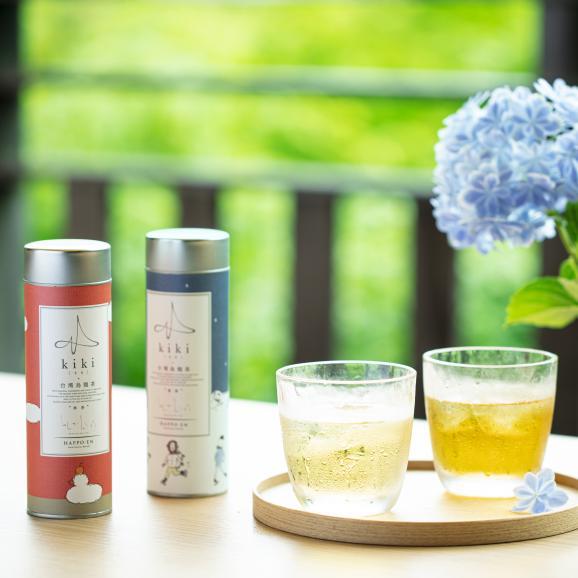 【kikiのお中元】台湾烏龍茶2缶セット(高山烏龍茶とジャスミン茶)01