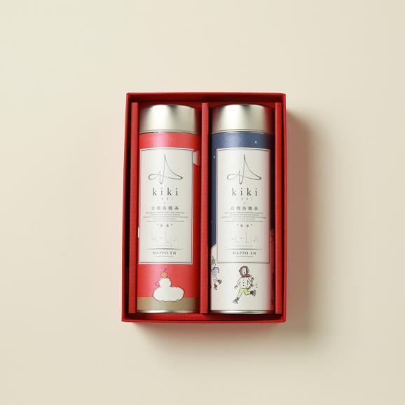 【kikiのお中元】台湾烏龍茶2缶セット(高山烏龍茶とジャスミン茶)04