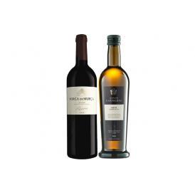 レアル・コンパーニャ・ヴェーリャ社特製オリーブオイル・赤ワインセット
