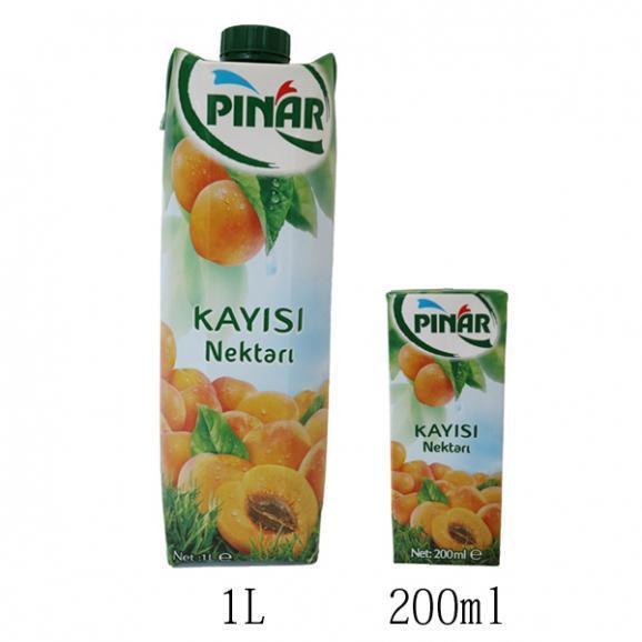 40%アプリコット果汁入り飲料 200ml02