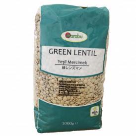 Barabu - 緑レンズ豆 Green Lentil 1kg (Yesil Mercimek)