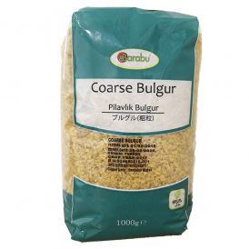 BARABU 挽割り小麦 ブルグル 粗粒 1kg - BARABU Coarse Bulgur 1kg - BARABU Pilavlık Bulgur 1kg
