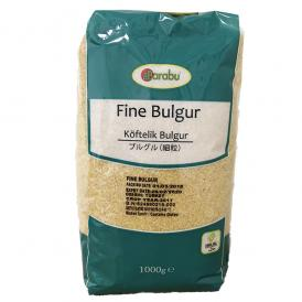 BARABU 挽割り小麦 ブルグル 細粒 1kg - BARABU Fine Bulgur 1kg - BARABU Köftelik Bulgur 1kg