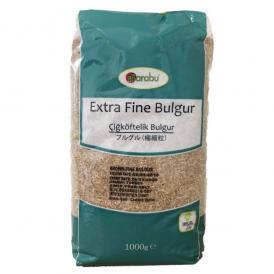 Barabu - 挽割り小麦 ブルグル 極細粒 Extra Fine Bulgur 1kg
